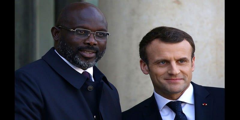 Photo de Libéria: George Weah très critiqué pour avoir tendu la main à la France