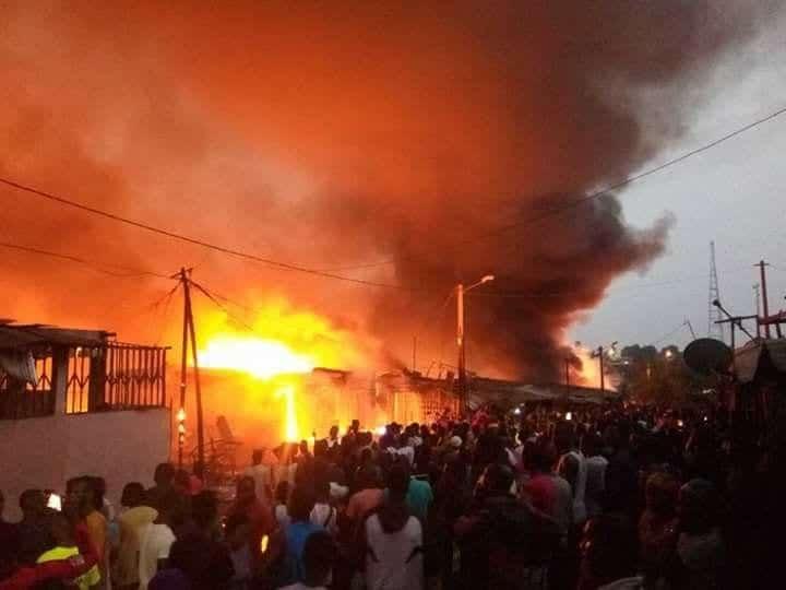 Photo de Côte d'Ivoire/Drame: Un autre marché a brûlé. La série noire continue