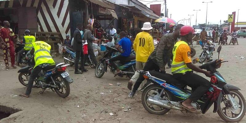 Photo de Sénégal : Grève des taxi-motos, la situation revient au calme