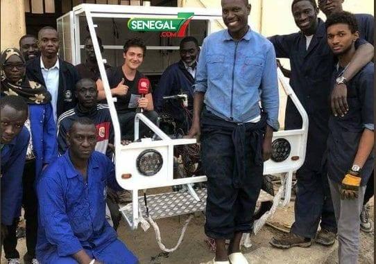 Photo de Sénégal/Technologie : La première voiture solaire fabriquée par des étudiants!