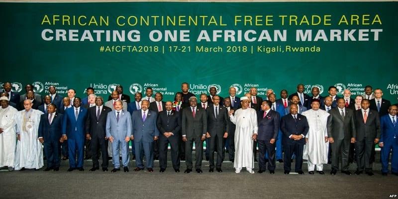 Photo de Afrique: Accord de libre-échange continental entre 44 pays