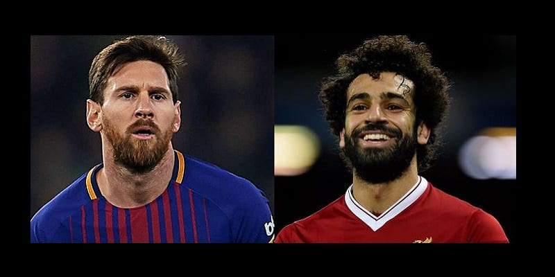 Photo de Football: Mohamed Salah réagit à la comparaison entre Messi et lui
