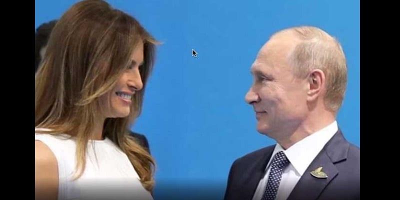Photo de Russie: Ce «petit mensonge» que Vladimir Poutine a fait avaler à Melania Trump
