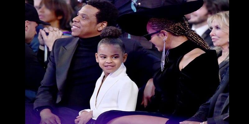 Photo de People: Blue Ivy offre 17.000 $ pour une œuvre d'art à l'insu de Beyoncé et Jay Z