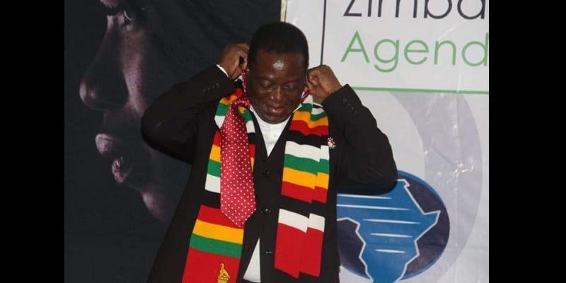 Photo de Zimbabwe: Une cravate du chef de l'État vendue aux enchères. La raison