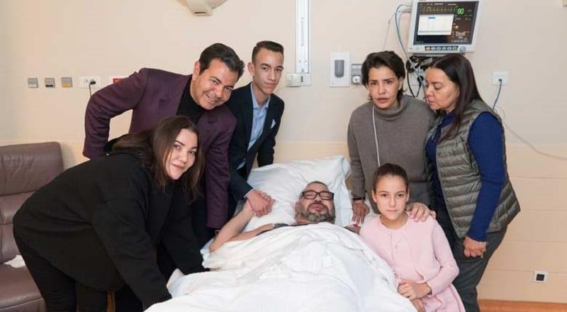 Photo de Insolite: Photo du Roi Mohamed VI après son opération du cœur