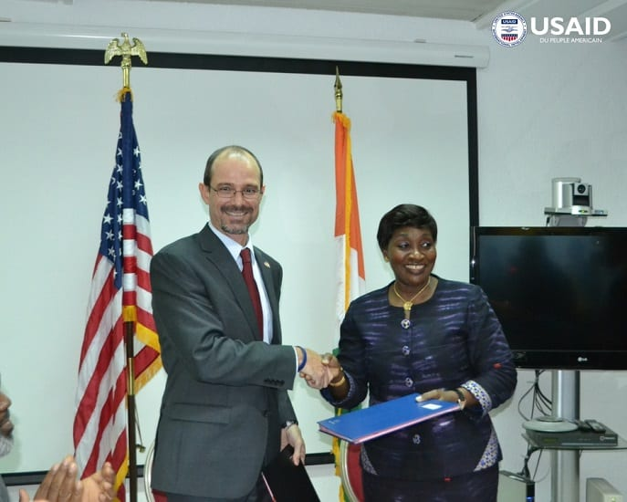Photo de Santé : Les Etats-Unis volent au secours de la Côte d'Ivoire