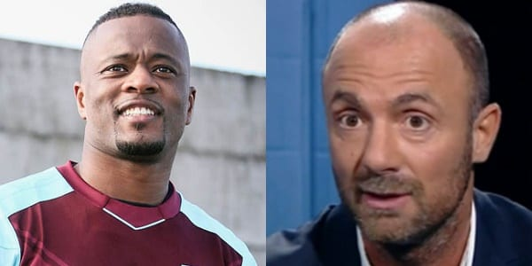 Photo de West Ham: Dugarry clashe Patrice Evra après son 1er Match