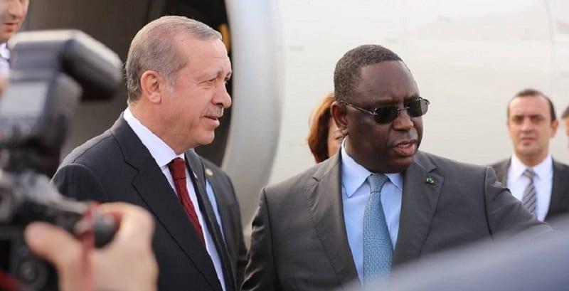 Photo de Coopération : Le président turc en visite officielle au Sénégal
