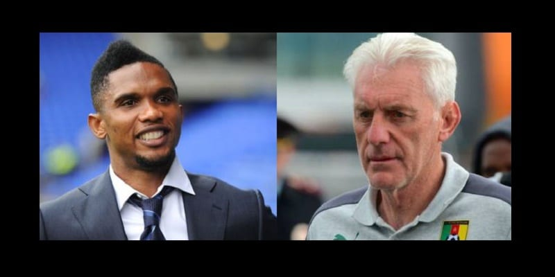 Photo de Lions indomptables: Samuel Eto'o répond à Hugo Broos