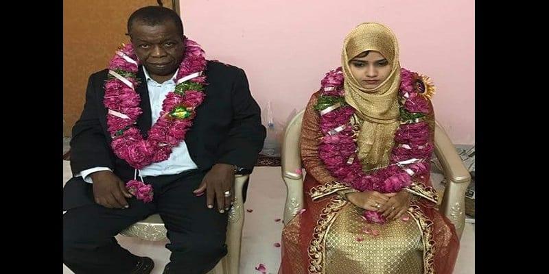 Photo de Inde-insolite: Une gamine de 15 ans mariée à un Nigérian de 60 ans (photos)