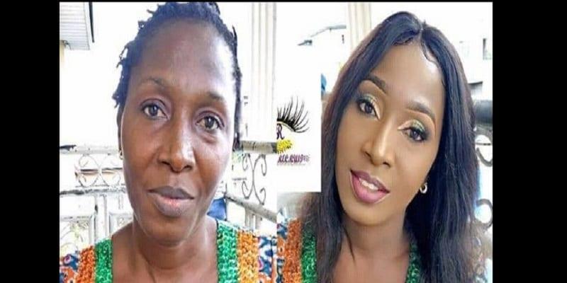 Photo de Beauté: Transformation incroyable d'une femme par le maquillage: Photo