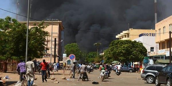 Photo de Burkina Faso: L'attaque dans la ville de Ouagadougou a fait 13 morts