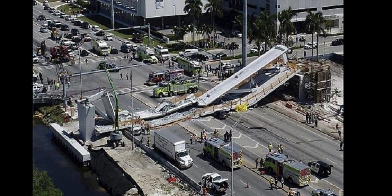 Photo de USA: Un pont piétonnier s'effondre et fait plusieurs morts (PHOTOS/VIDÉO)