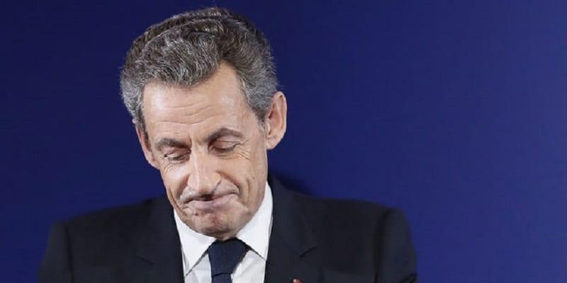 Photo de France: L'ancien président français Nicolas Sarkozy en garde à vue
