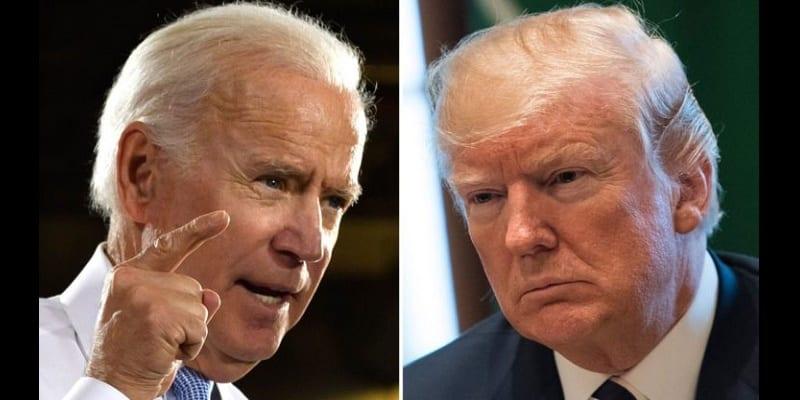 Photo de USA: Vives tensions entre le président Donald Trump et Joe Biden