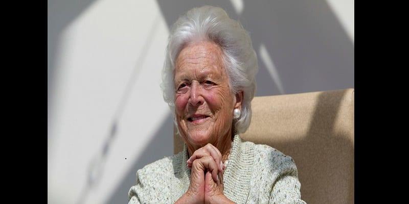 Photo de États-Unis: Barbara Bush est décédée à l'âge de 92 ans