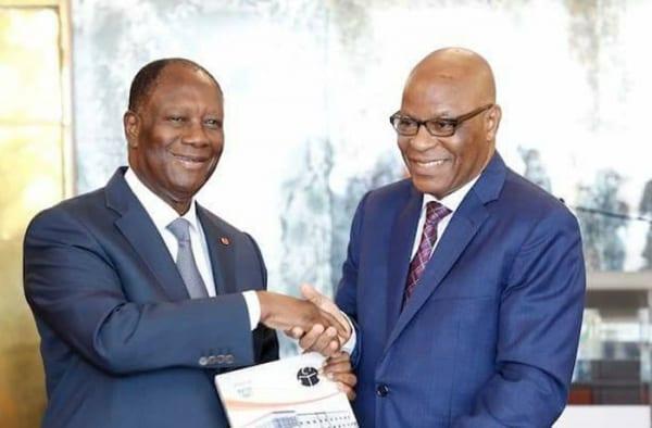 Photo de Côte d'Ivoire: Le rapport 2017 du Conseil National de Presse remis au Chef de l'Etat