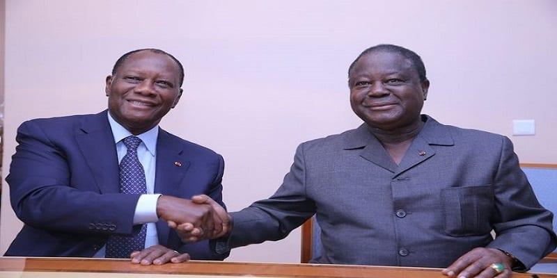 Photo de Côte d'Ivoire: Bédié et Ouattara enfin d'accord pour le parti unifié