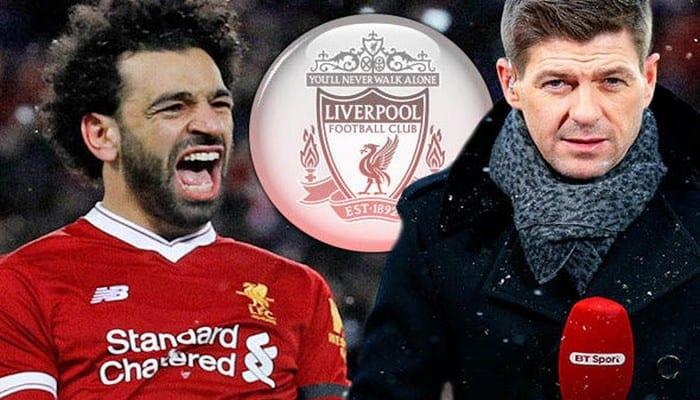 Photo de Steven Gerrard: «Mohamed Salah est le meilleur joueur du monde »