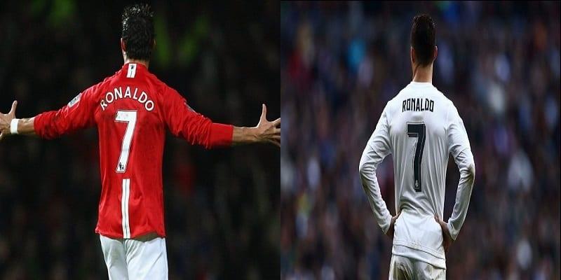 Photo de Cristiano Ronaldo révèle tout sur le fameux numéro 7