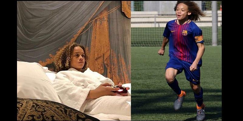 Photo de FC Barcelone: Découvrez Xavi Simons, le jeune talent qui affole la planète foot (vidéo)