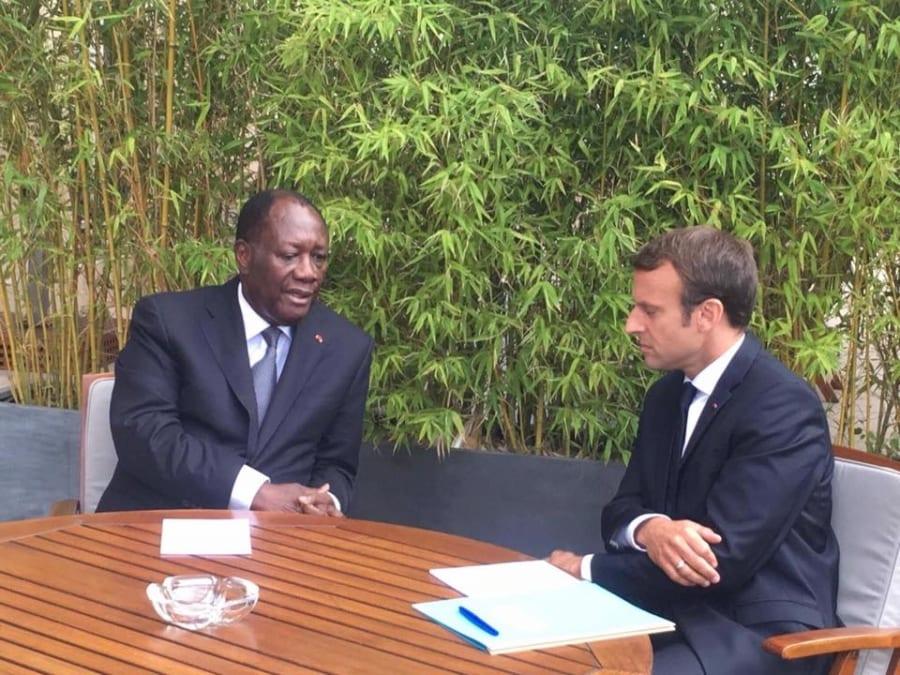 Photo de Côte d'Ivoire: Alassane Ouattara poursuit sa coopération avec la France!