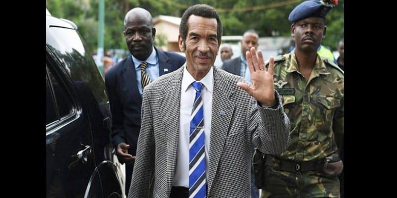 Photo de Botswana: Le président Ian Khama donne un exemple de démocratie aux dirigeants africains