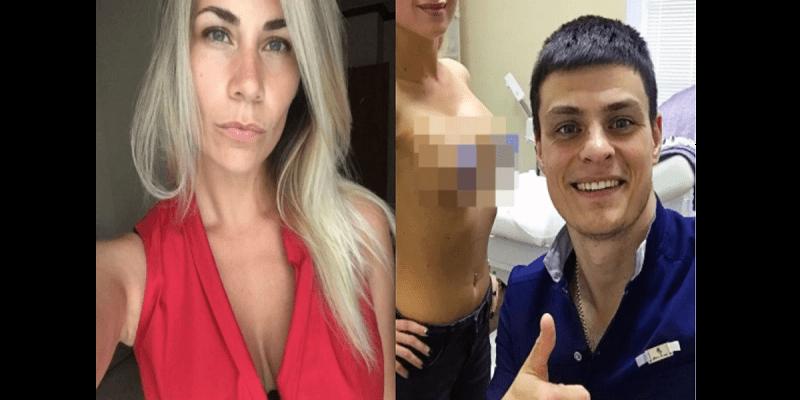 Photo de Russie: Un chirurgien interrompt une opération pour faire un selfie avec les seins de sa patiente