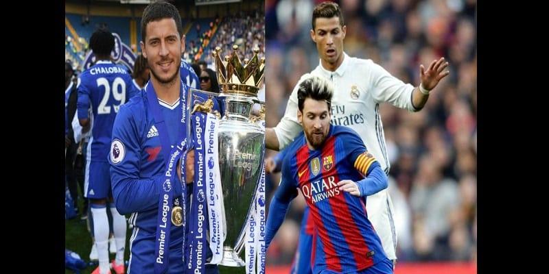 Photo de Chelsea: Eden Hazard refuse d'être comparé à Ronaldo et Messi