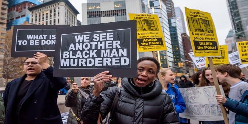 Photo de USA: Vives tensions à New York suite à l'assassinat d'un noir par la police