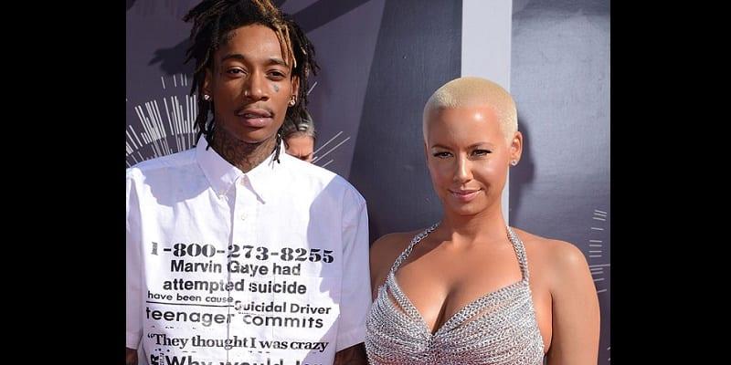 Photo de People :  Wiz Khalifa clashe son ex-femme Amber Rose