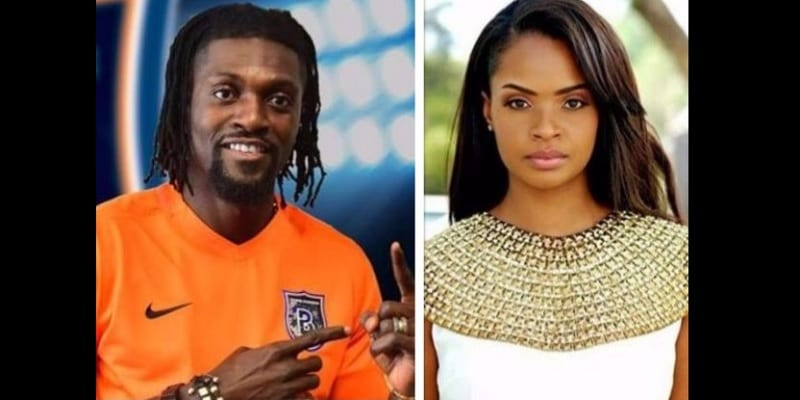 Photo de Fin de la romance entre Emmanuel Adébayor et Dillish Matthews ? Photos