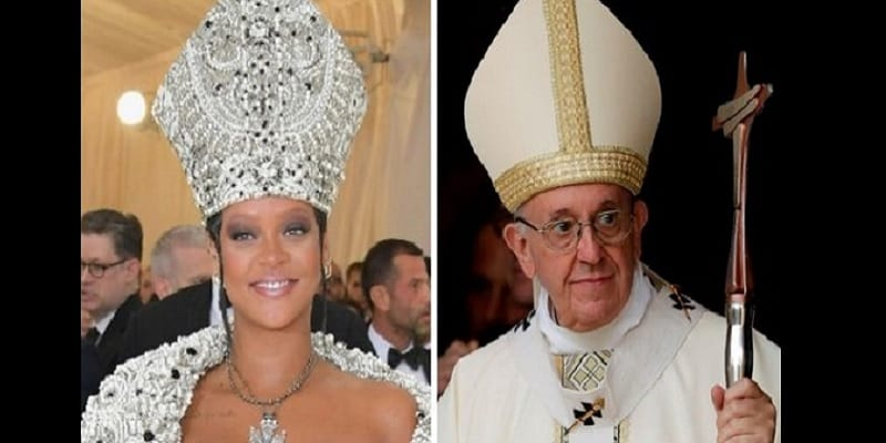Photo de MET Gala 2018: Rihanna imite la tenue du pape (PHOTOS)