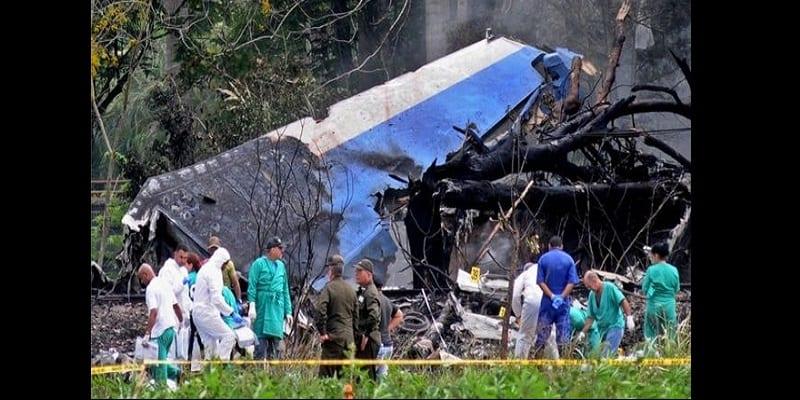 Photo de Cuba: Plus de 100 personnes mortes dans un accident d'avion