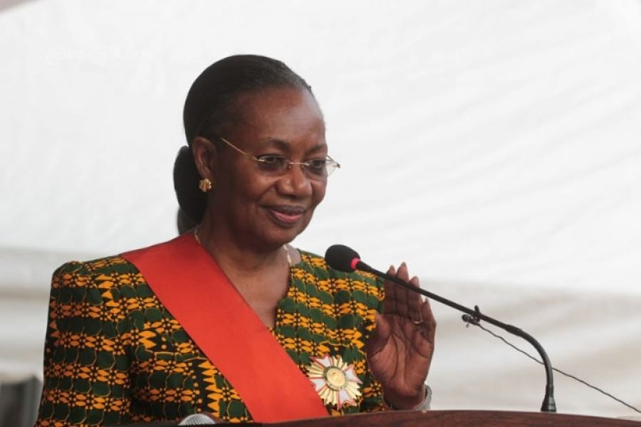Photo de Henriette Diabaté « Nous nous sommes battus pour accéder finalement au pouvoir d'Etat »