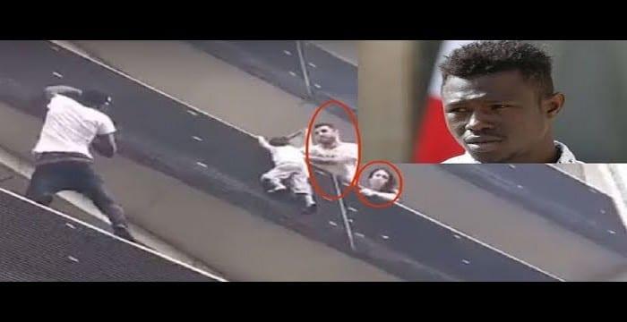 Photo de France: Découvrez ce que faisait le père de l'enfant sauvé par Mamoudou Gassama