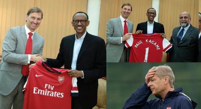 Photo de Arsenal: le président Paul Kagame appelle à un changement au sein du club