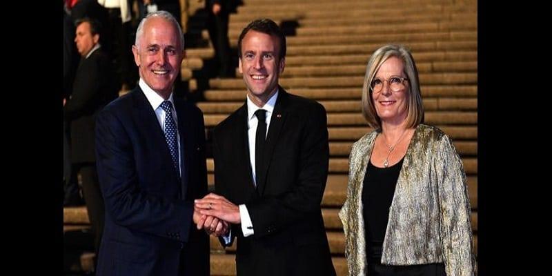 Photo de Australie: Emmanuel Macron fait une grosse boulette au sujet de la première dame (vidéo)