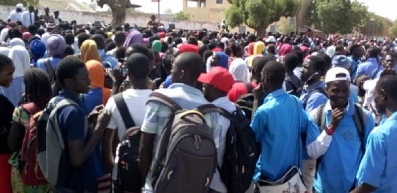 Photo de Sénégal: Grève illimitée à l'Université Gaston Berger après la mort de Fallou Sène