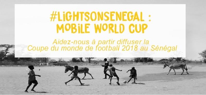 Photo de Sénégal : L'association HAPPI diffusera la Coupe du Monde dans les zones sans électricité