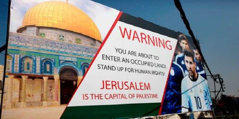 Photo de Match Israël-Argentine: Israël porte plainte contre la Palestine