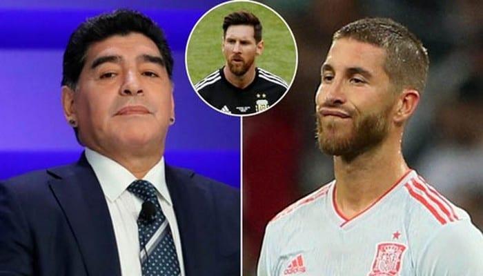 Photo de Football: La cinglante réponse de Ramos à Maradona