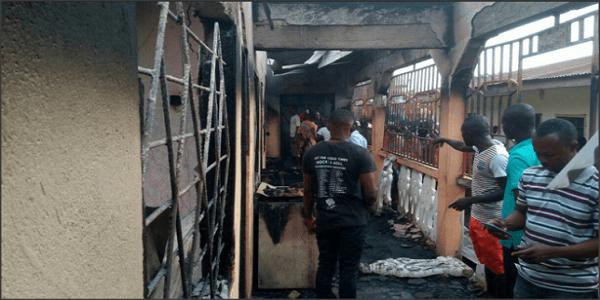 Photo de Crise Anglophone: Le tribunal de 1ère instance de Muyuka incendié