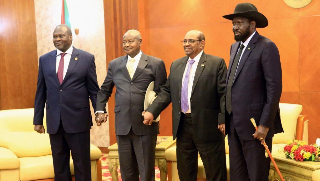 Photo de Soudan : Salva Kiir et Riek Machar signent un cessez le feu