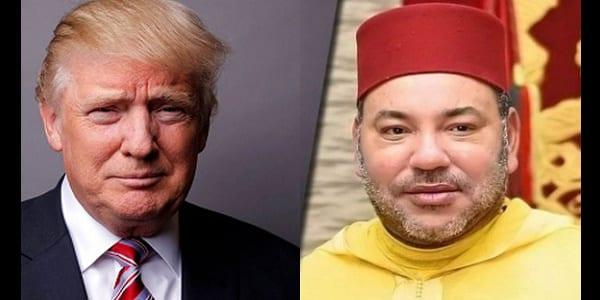 Photo de Maroc : Le message de Donald Trump au Roi Mohamed VI