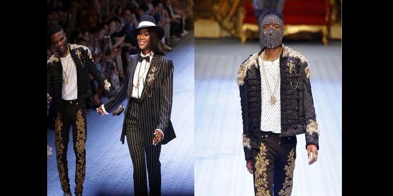 Photo de People: Wizkid devenu mannequin? Il défile pour Dolce & Gabbana (vidéos)