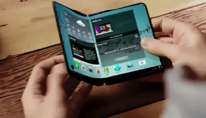 Photo de Voici le nouveau Galaxy X, un smartphone pliable plus cher que l'iPhone x