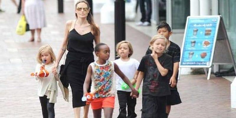 Photo de Angelina Jolie risque de perdre la garde de ses enfants à cause de Brad Pitt