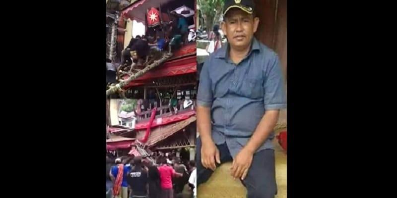 Photo de Indonésie: un homme meurt écrasé par le cercueil de sa mère (vidéo)